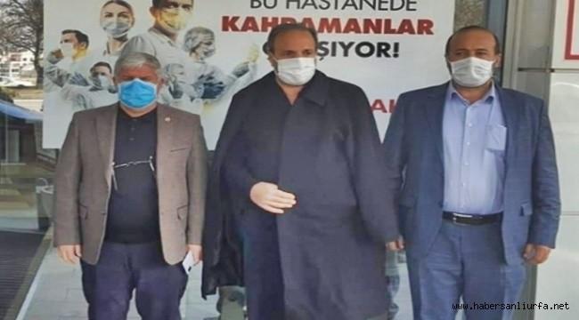 Şanlıurfa Milletvekili Halil Özcan Taburcu Oldu