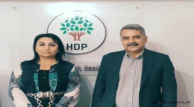 Urfa'da HDP'nin Yeni Eş Başkanları Karakeçili ve Çalışkan Oldu