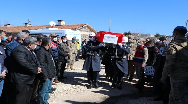 Urfa'lı Jandarma Uzman Çavuş Ömer Çiftçi Toprağa Verildi