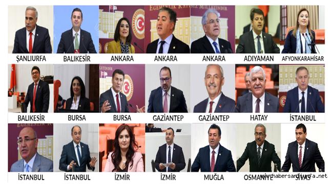 CHP'Li 20 Milletvekili Şanlıurfa'ya Gelecek