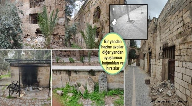 Urfa'nın Ulu Camisini Harabeye Çevirdiler