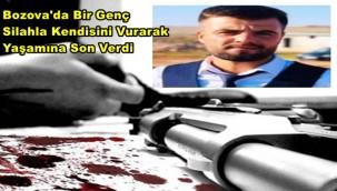 Bozova'da Bir Genç Silahla Kendisini Vurarak Yaşamına Son Verdi