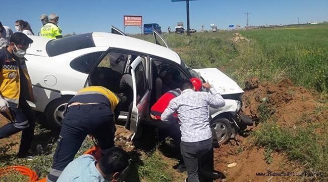 Bozova'da Trafik Kazası: 5 Yaralı