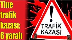 Şanlıurfa- Akçakale Kara Yolunda Trafik kazası : 6 Yaralı
