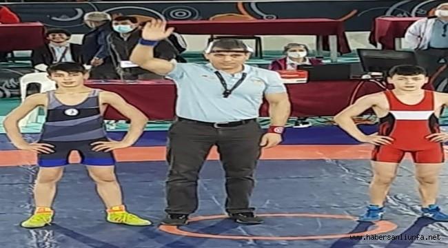 Urfa'lı İslam Turan Güreşte Türkiye Şampiyonu Oldu
