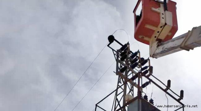 Viranşehir'de Çiftçinin Elektriği Kesildi