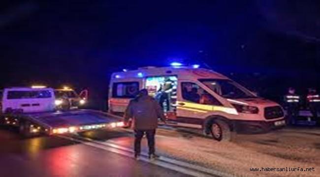 Viranşehir'de Kamyonet ile Otomobil Çarpıştı 6 Yaralı