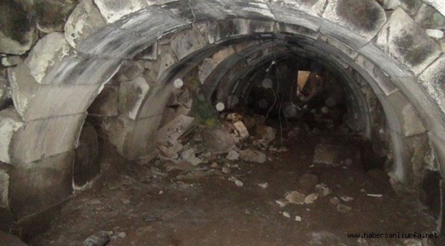 Viranşehir'de Kaçak kazıda Roma Dönemine Ait Zindan Ortaya Çıktı
