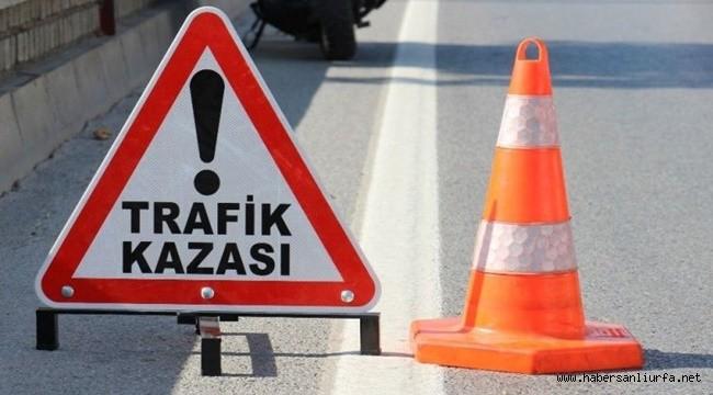 Viranşehir'de Refüje Çarpan Otomobil Devrildi: 5 Yaralı