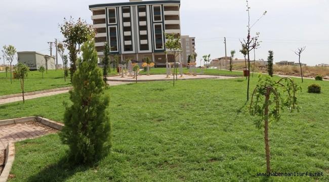 Yemyeşil Bir Karaköprü için Yeni Parklar Yapılıyor