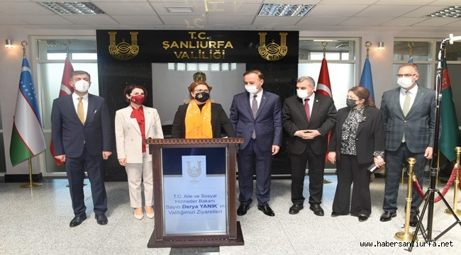 Bakan Derya Yanık Şanlıurfa'da