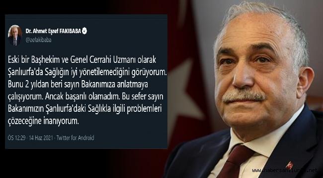 Fakıbaba'nın Bir Tweeti Müdürün Yerini Değiştirdi
