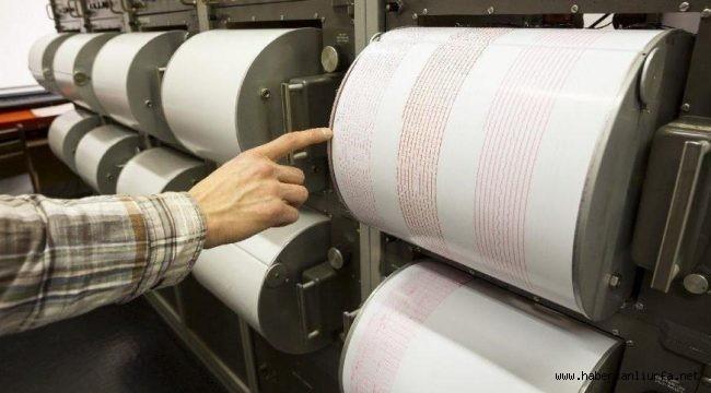 Halfeti'de 3.7 Büyüklüğünde Deprem…