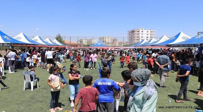 Halfeti'de Çocuklar İçin Şenlik Düzenlendi