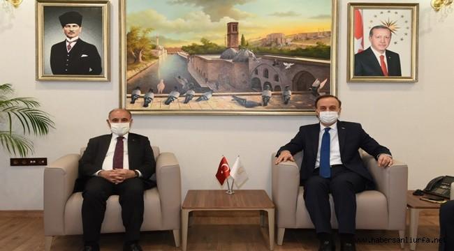 Mehmet Aktaş, Şanlıurfa Valiliği'ni Ziyaret Etti