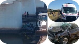Siverek'te Dereye Düşen Otomobildeki 5 kişi Hayatını Kaybetti