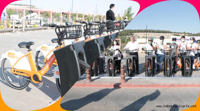 URFABİS Akıllı Bisiklet Şanlıurfalıların Hizmetinde