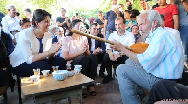 Buldan, Urfa'da Esnafı Ziyareti Gerçekleştirdi