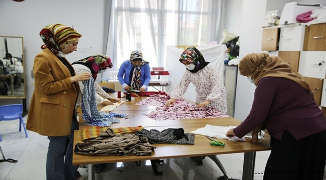 Haliliye'de Kadınlar Meslek Sahibi Oluyor