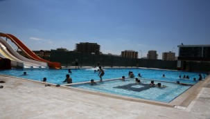 Karaköprü Yüzme Havuzu Hizmete Açılıyor