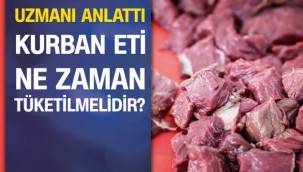 Kurban eti ne zaman ve nasıl tüketilmeli?