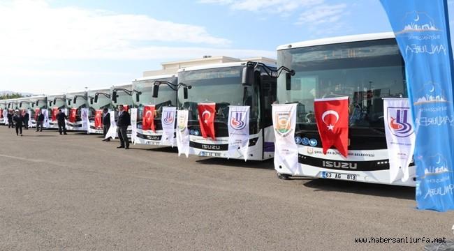 Şanlıurfa'da Toplu Taşıma Bayram Süresince Ücretsiz