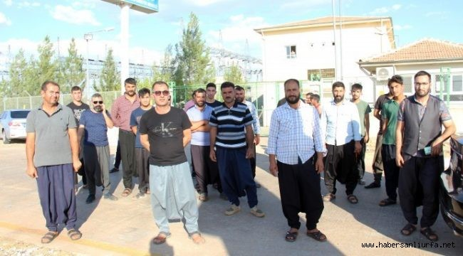 Urfa 'da Çiftçiler DEDAŞ'ı Protesto Etti