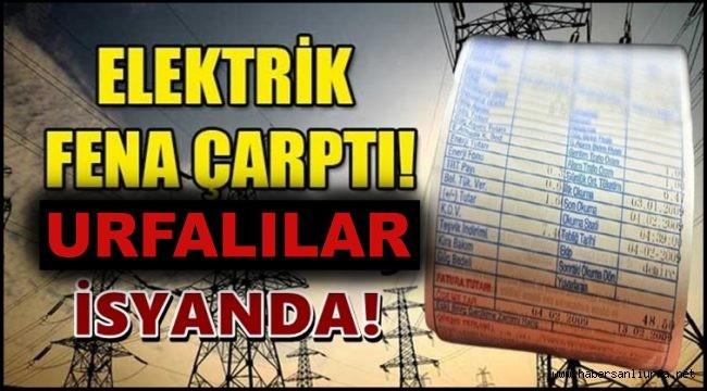 Elektrik Faturaları Fena Çarptı Urfalılar İsyanda!