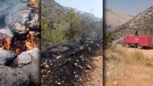 Halfeti'de Orman Yangını