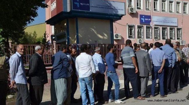 Urfa'da 2 Kişilik İş İlanına 9 Bin 972 Başvuru