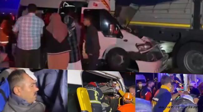 Urfa'lı Tarım İşçileri Kaza Yaptı : 17 Yaralı