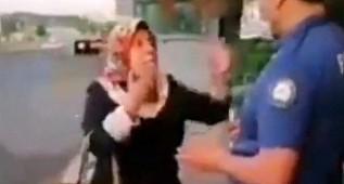 Şanlıurfa'da Polisi İsyan Ettiren Kadın