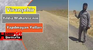Viranşehir Yıldız Köyü'nün Yapılmayan Yoları
